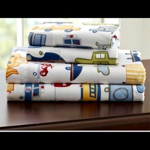Boys Queen Pottery Barn Kids Sheet Set